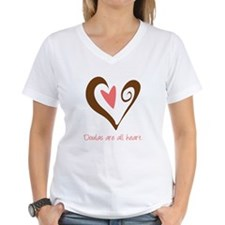 Doulas All Heart Brown Shirt