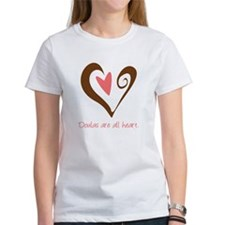 Doulas All Heart Brown Tee