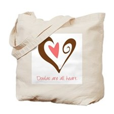 Doulas All Heart Brown Tote Bag