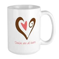 Doulas All Heart Brown Mug