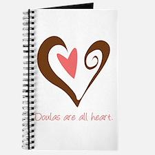 Doulas All Heart Brown Journal