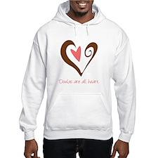Doulas All Heart Brown Hoodie
