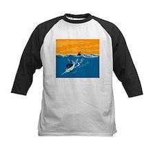 sailfish diving down Tee