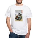 Warrior Saito Uheenotayu Tatsuoki White T-Shirt