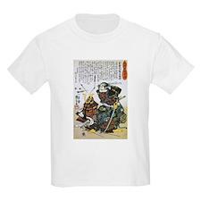 Warrior Saito Uheenotayu Tatsuoki (Front) T-Shirt