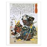 Warrior Saito Uheenotayu Tatsuoki Small Poster