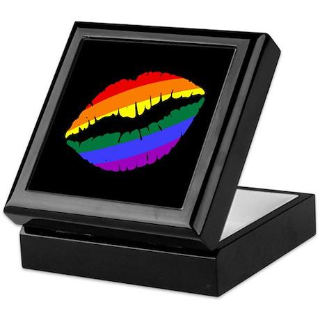 Rainbow Kiss Keepsake Box
