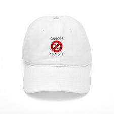 Support Safe Sex Baseball Cap