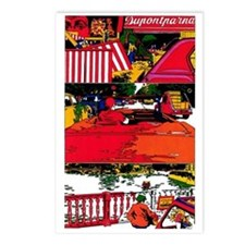 $9.99 Psychedelic PopArt 6 Postcards (8)