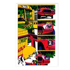 $9.99 Psychedelic PopArt 7 Postcards (8)