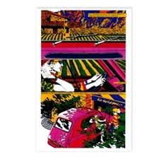 $9.99 Psychedelic PopArt 10 Postcards (8)