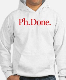 Ph.Done. Red Hoodie