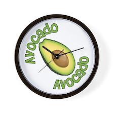 Avocado Avocado Wall Clock