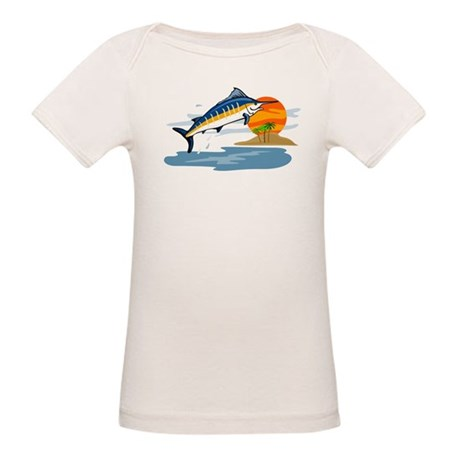 blue marlin Organic Baby T-Shirt