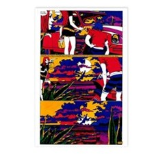 $9.99 Psychedelic PopArt 14 Postcards (8)