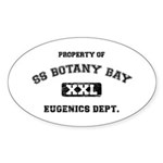 Botany Bay Sticker (Oval 50 pk)