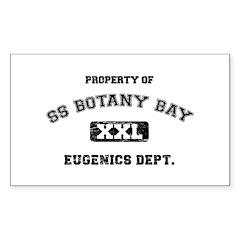 Botany Bay Sticker (Rectangle 10 pk)