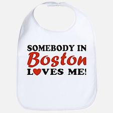 Somebody in Boston Loves Me! Bib