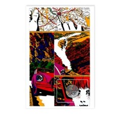 $9.99 Psychedelic PopArt 11 Postcards (8)