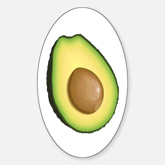 Avocado Sticker (Oval)