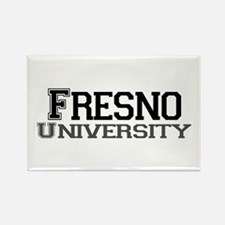 Fresno University Rectangle Magnet