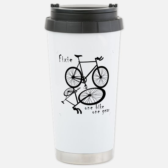 Fixie - one bike one gear Stainless Steel Travel M