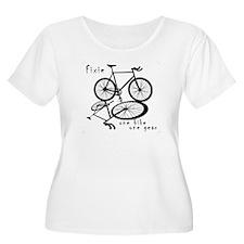 Fixie - one bike one gear T-Shirt