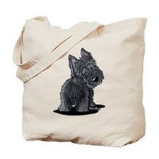 Scottish Moon Tote Bag