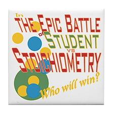 Stoichiometry Tile Coaster