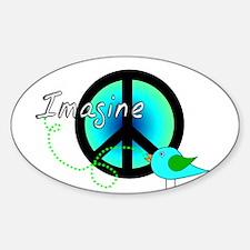 Musicians Sticker (Oval)