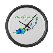 Pharmacist II Large Wall Clock