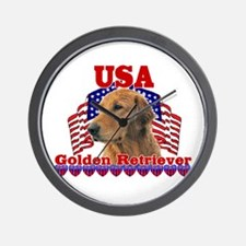Golden Retriever Gifts Wall Clock