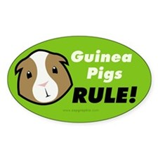 Guinea Pigs Rule Decal