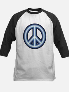 Blue Peace Symbol Tee