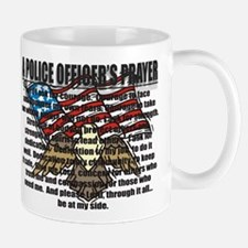 POLICE OFFICER'S PRAYER Mug