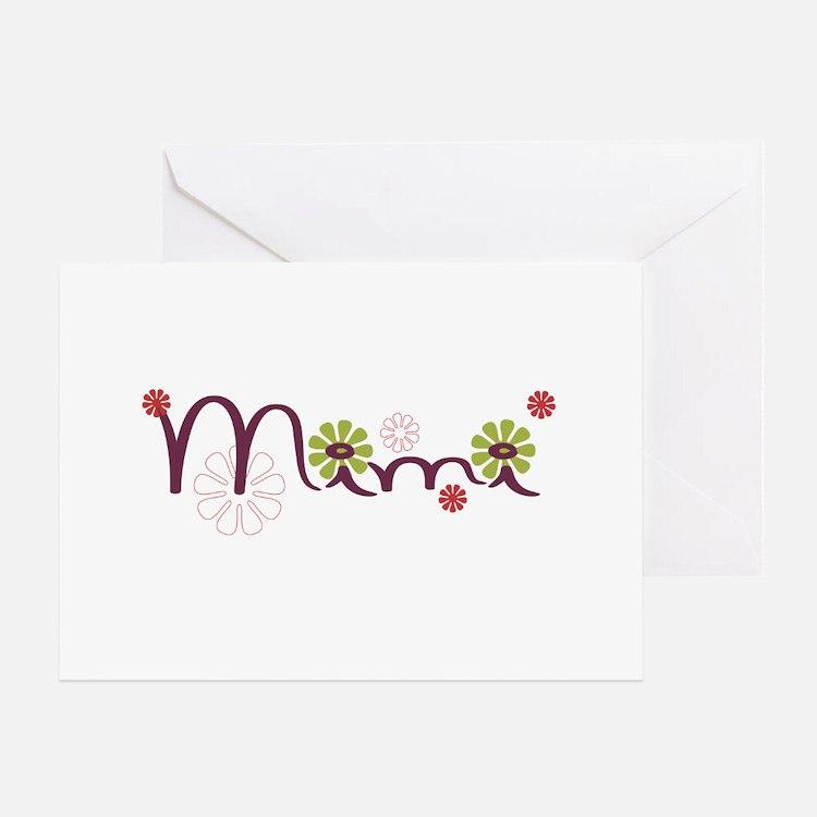Mimi Greeting Card