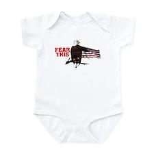 Fear This Bald Eagle Infant Bodysuit