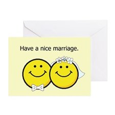 Have a nice marriage Greeting Card