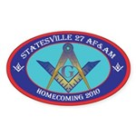 Statesville Sticker (Oval 50 pk)