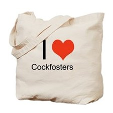I Heart Cockfosters Canvas Tote Bag