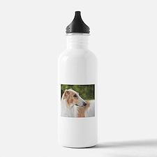 Borzoi by Dawn Secord Water Bottle