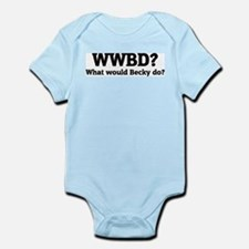 What would Becky do? Infant Creeper
