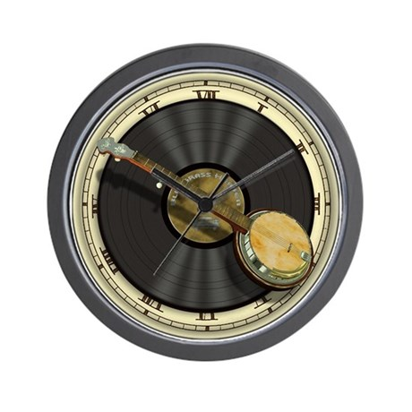 Musical Instruments Clocks Musical Instruments Wall Clocks