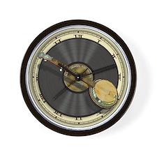 Banjo Music Wall Clock