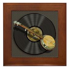 Banjo Music Framed Tile