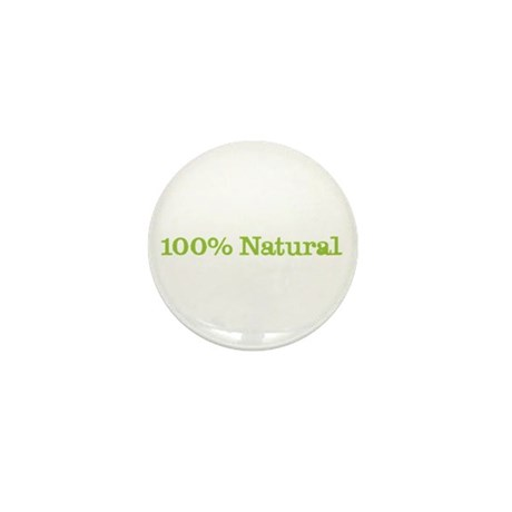 CRAZYFISH 100% natural Mini Button