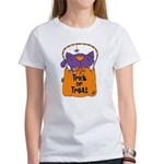 Kitty Trick or Treat Women's T-Shirt