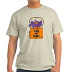 Kitty Trick or Treat Light T-Shirt