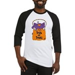 Kitty Trick or Treat Baseball Jersey