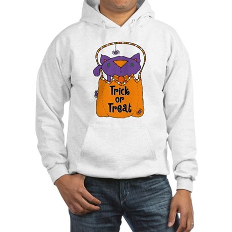 Kitty Trick or Treat Hooded Sweatshirt